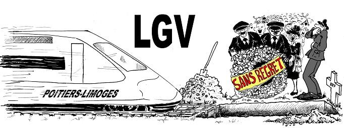 Enterrons la L.G.V. Poitiers-Limoges